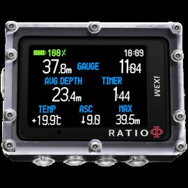 Komputer nurkowy RATIO iX3M GPS Tech+