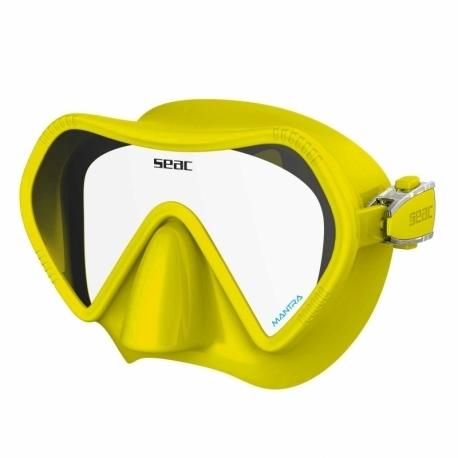 Maska SEAC Mantra Żółta